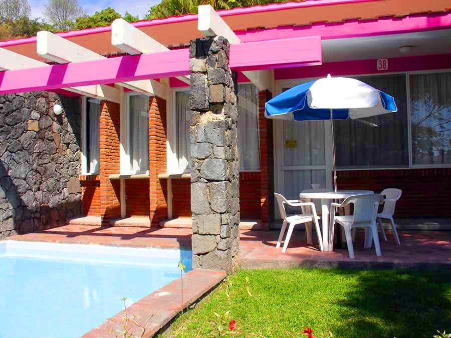 Oaxtepec hospedaje caba as for Villas imss tequesquitengo mor